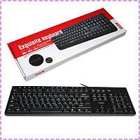 Клавиатура Havit HV-KB373, Black, USB