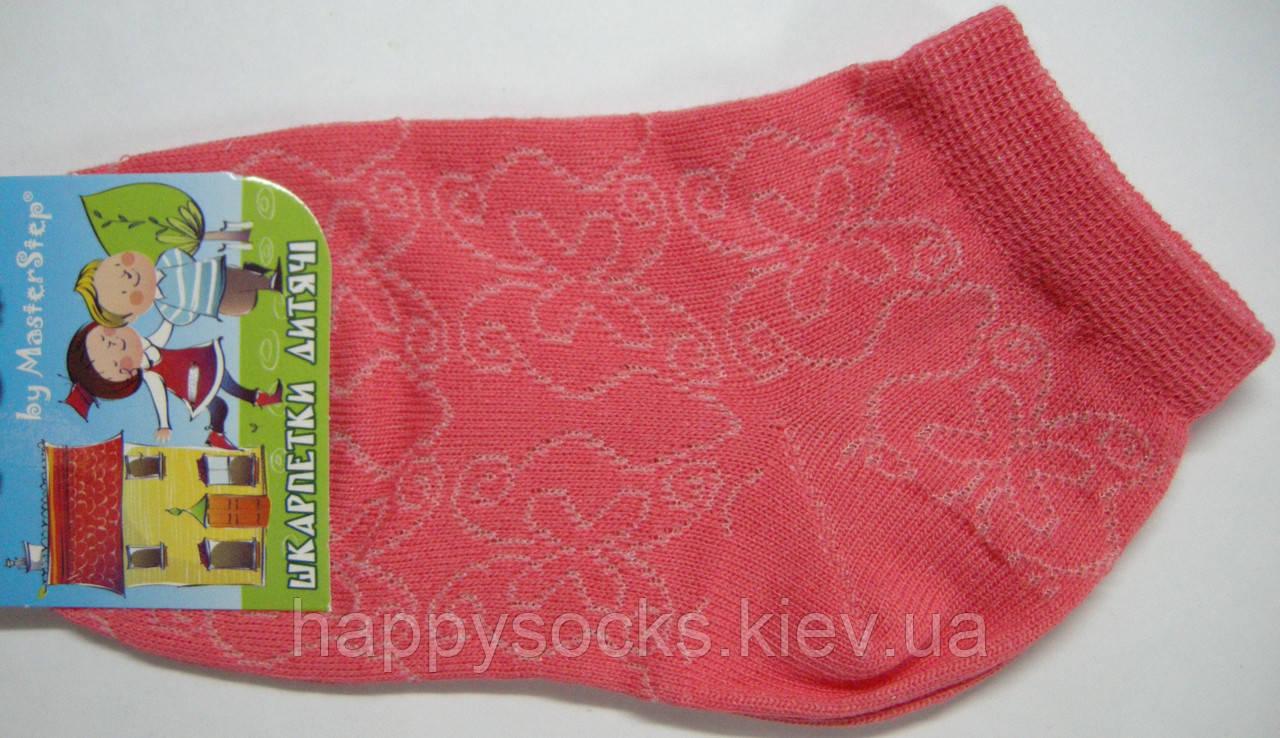 Летние детские носки с узором