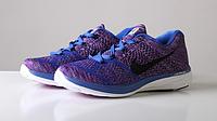 "Кроссовки Nike Flyknit Lunar 3 ""Violet/Blue"" Арт. 0652"