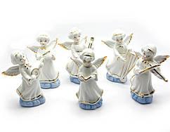 Ангелочки набор 6 шт(11,5х7х5см)(A382  6/S)