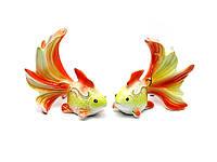 Золотая рыбка фарфор (10х12х7,5 см)(YSAA-11540)