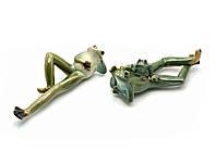 "Лягушки керамические н-р 2 шт. ""Семья"" (17,5х10х8 см)(09997-3 2/S)"