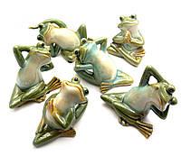 Лягушка керамическая (6 видов)(6 шт/уп)(11х9,5х9 см)(22008)