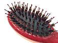 Массажная щётка для волос SALON PROFESSIONAL маленькая со щетиной(8642), фото 2
