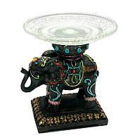 Слон с блюдом (16,5х15х15 см)(0938)