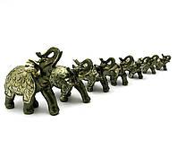 Слоны набор 7 шт (28х25х9 см)(W60130-136)