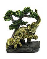 Слоны под деревом (21х18х9 см)(W60144)