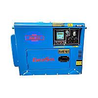 Дизельный генератор однофазный 6 кВт EnerSol SDS-6EA