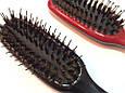Массажная щётка для волос SALON PROFESSIONAL со щетиной (8648), фото 2