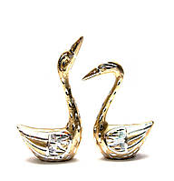 Лебеди пара алюминий (14х9х4 см)