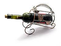 """Подставка для бутылки """"Лист"""" металл (22х25х10 см)"""