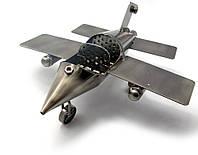 """Техно-арт """"Самолет"""" металл (20х21,5х10 см)(HF-003)"""