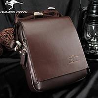 Мужская  сумка Kangaroo Kingdom-коричневая