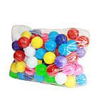Шарики -мячики для сухого бассейна 70 мм,  100 шт. Бамсик, фото 2
