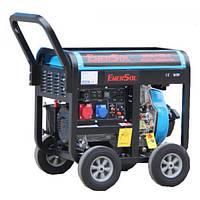 Дизельный генератор трехфазный 6.5 кВт EnerSol SKD-7E(B)-3