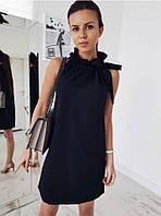 Женское летнее платье  в стиле VLADI цвет Черный
