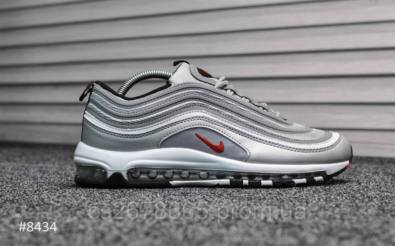 Мужские кроссовки Nike Air Max 97 Silver Bullet 8434