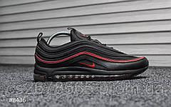 Мужские кроссовки Nike Air Max 97 Black Red 8436