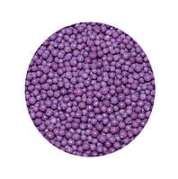 """Посыпка """"Темно-фиолетовые шарики"""", 50 гр."""