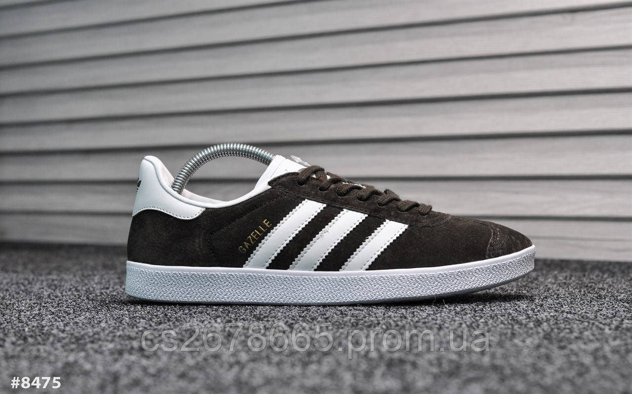 Мужские кроссовки Adidas Gazelle II Brown 8475