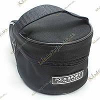 Велосипедная, подседельная сумочка Polo Sport (черная), фото 1