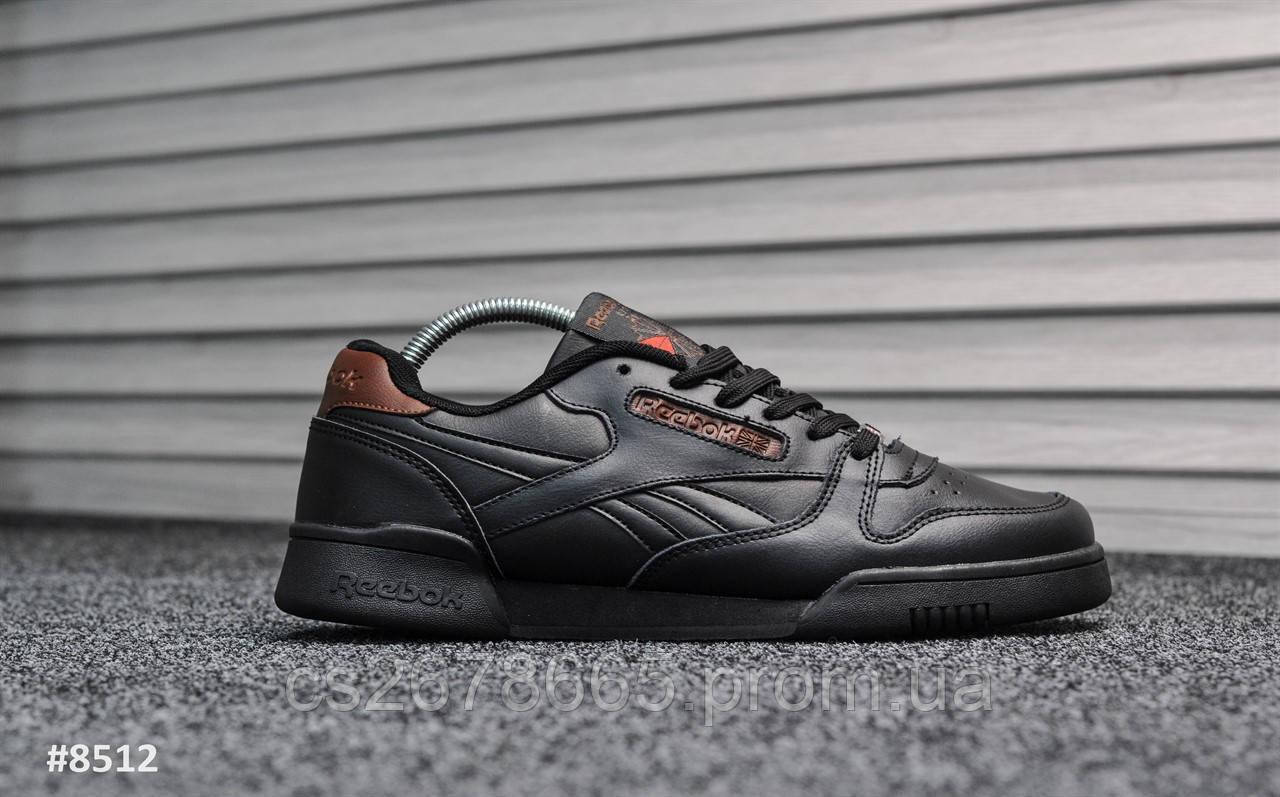 Мужские кроссовки Reebok Classic Black 8512