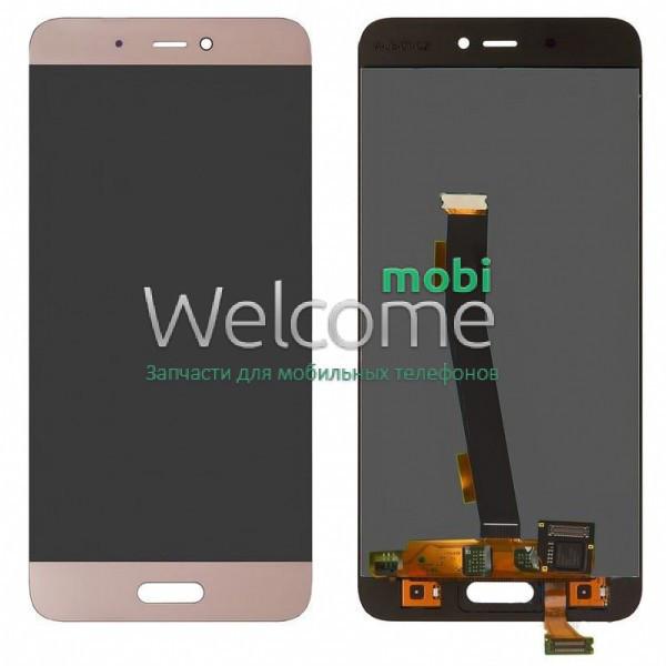 Модуль Xiaomi Mi5s Plus gold дисплей экран, сенсор тач скрин Сяоми Ксиоми