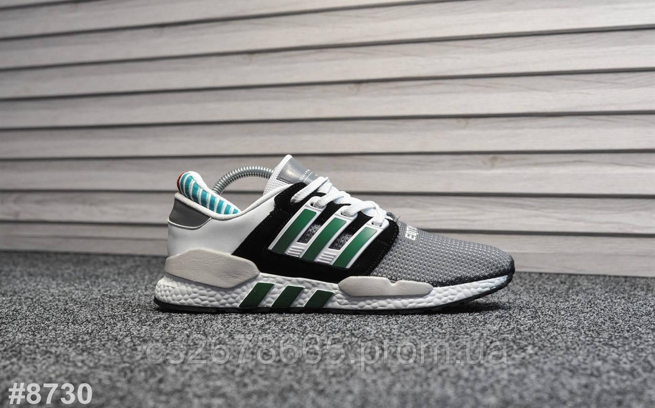 Мужские кроссовки Adidas Equipment New White Green 8730