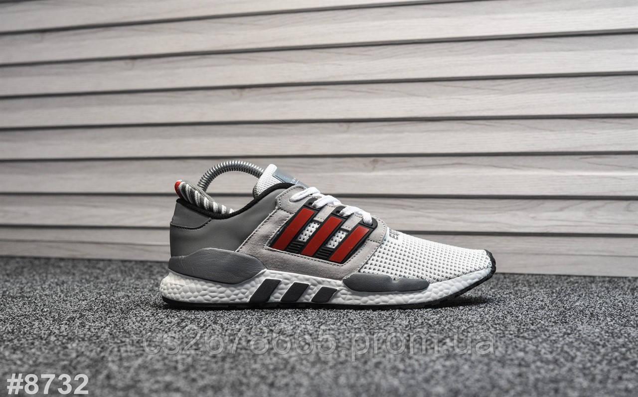 Мужские кроссовки Adidas Equipment White Red 8732