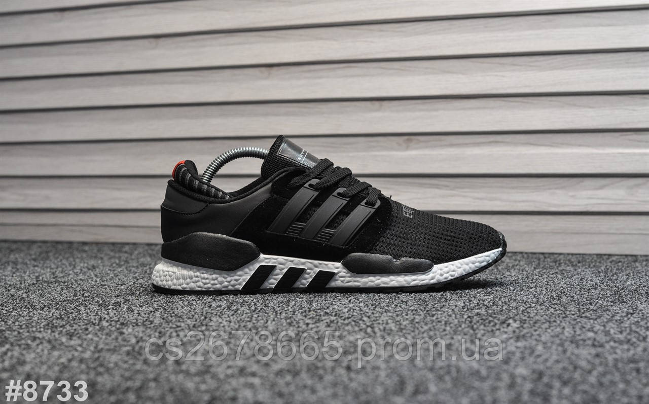 Мужские кроссовки Adidas Equipment Black White 8733