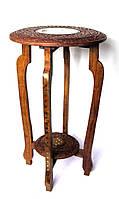 Стол розовое дерево (62х37х37 см))(WOODEN TABLE 15X24 DT)