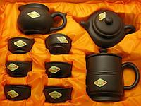 Сервиз глиняный (9 предметов) (39х29х12 см)