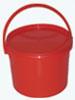"""Емкость-контейнер одноразовый для сбора медицинских колющих-режущих отходов """"Киль-К"""", класс В (красный), 6 л"""