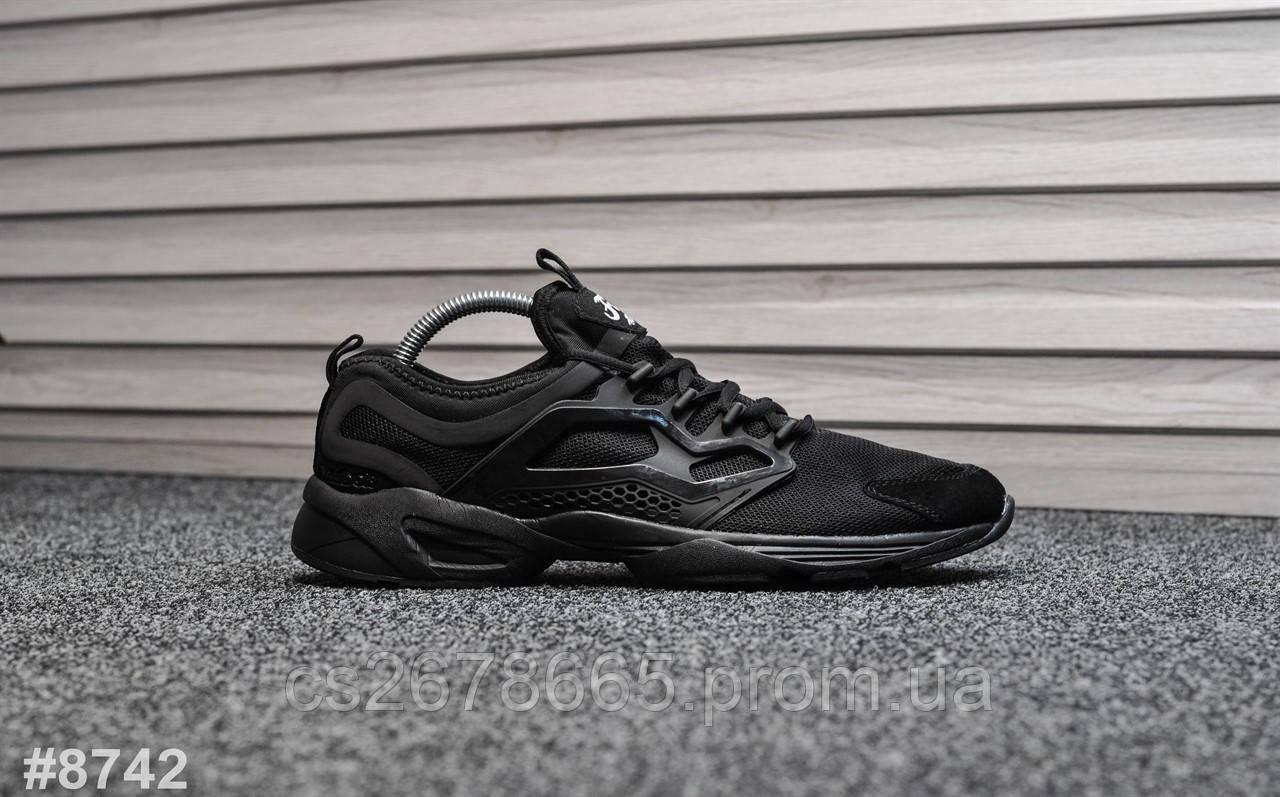 Мужские кроссовки Reebok Fury Triple Black 8742