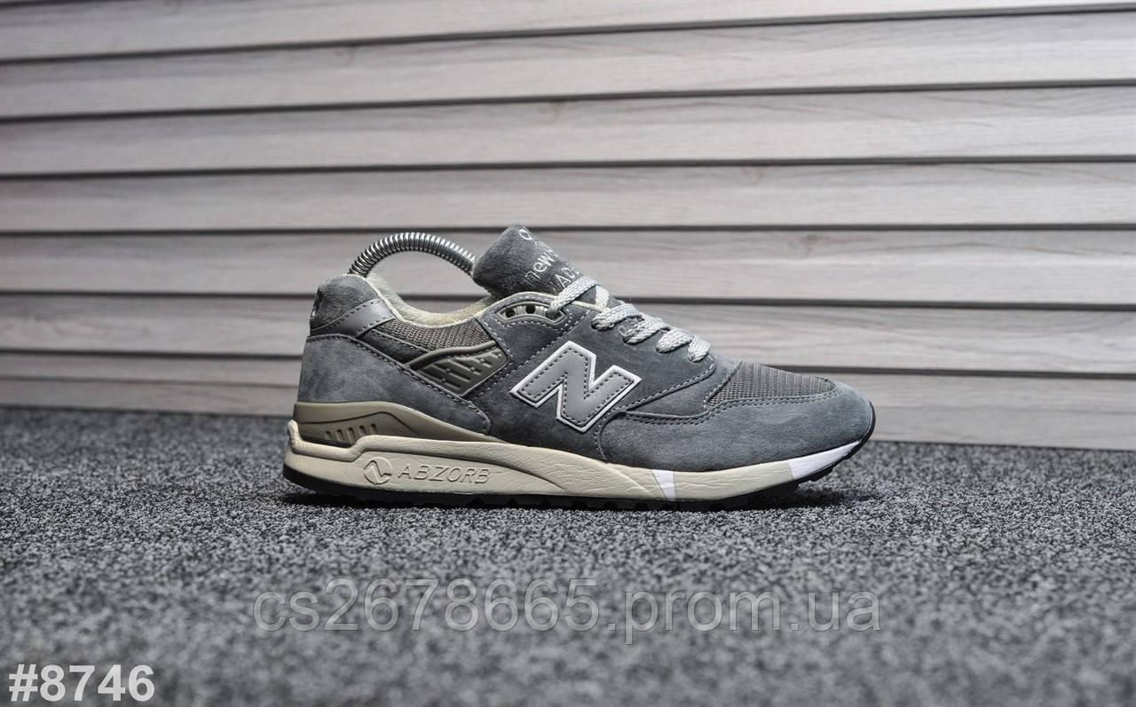 Женские кроссовки New Balance 998 Gray 8746
