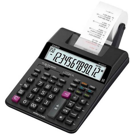 Калькулятор Casio  HR-150RCE-WA-EC с печатью (  2 цвета ), фото 2