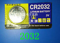 Батарейка высокой емкости литий ― марганцевая CR 2032