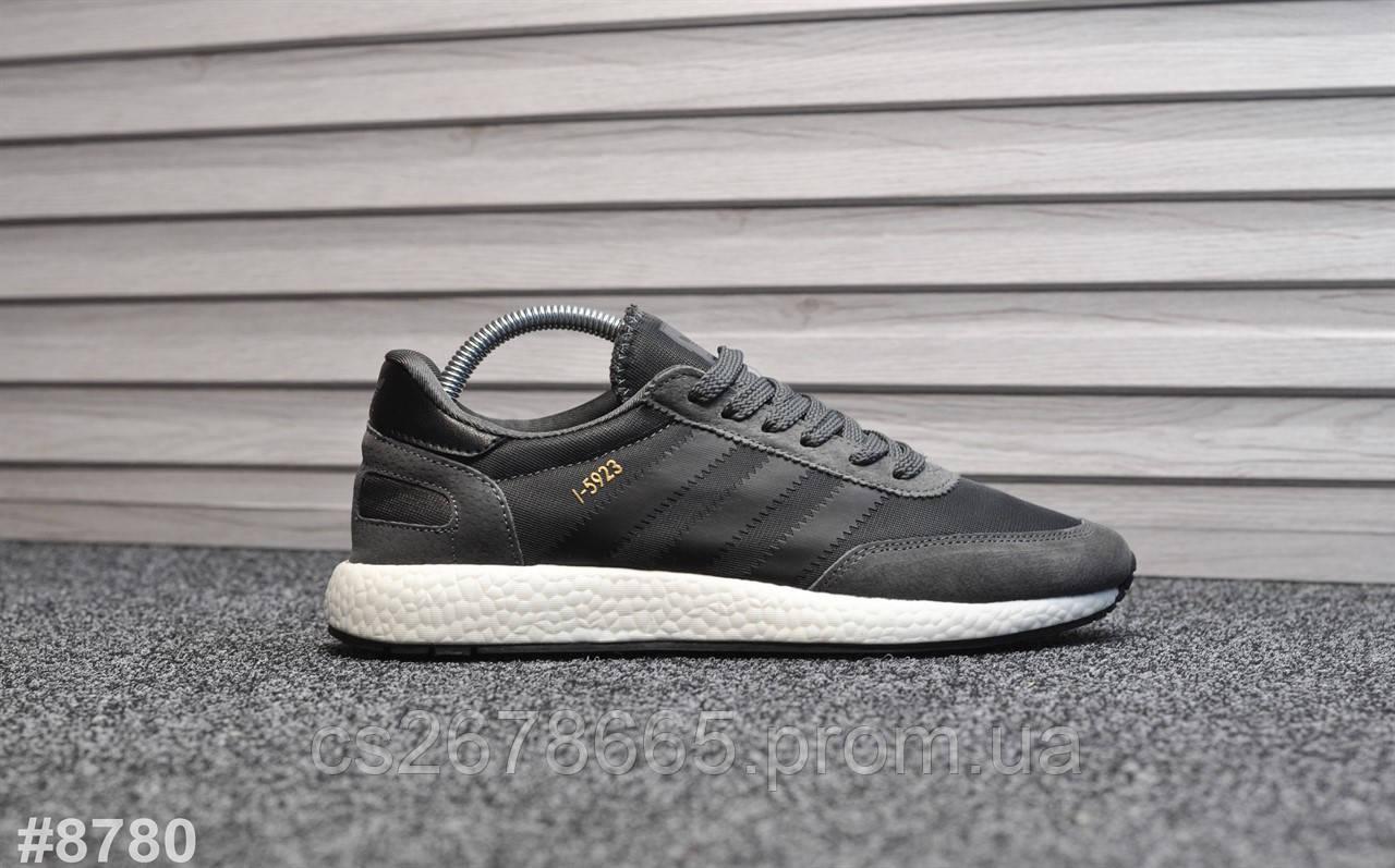 Мужские кроссовки Adidas Iniki New Dark Gray 8780