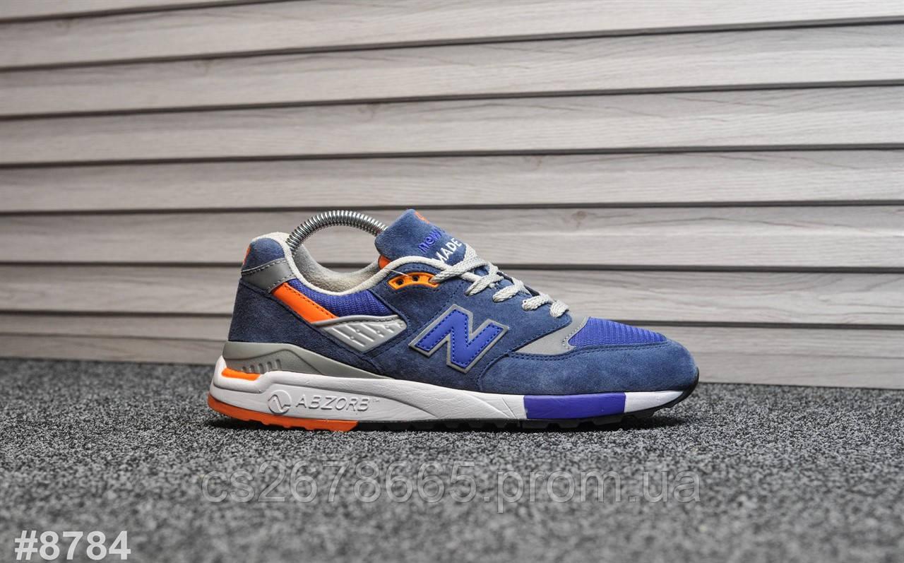 Мужские кроссовки New Balance 998 Azure 8784