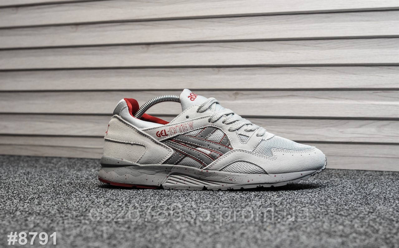 Мужские кроссовки Asics Gel Lyte V Nightshade Grey (reflective) 8791