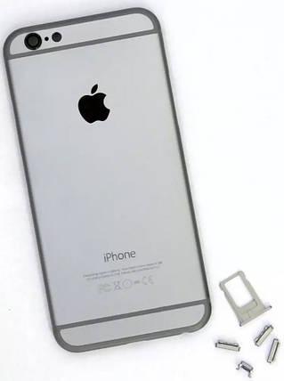 Задняя крышка iPhone 6 grey, сменная панель айфон, фото 2