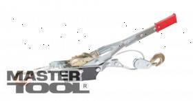 MasterTool  Лебедка рычажная 4т, 2 положения, трос 5,5 мм * 3,0 м, Арт.: 86-8022