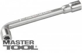 MasterTool  Ключ торцевой с отверстием L-образный  9 мм, CRV, Арт.: 73-4009