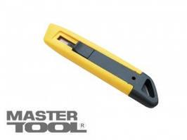 MasterTool  Нож трапеция пластиковый, безопасное лезвие, Арт.: 17-0301