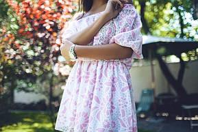 Платье в цветочек из фатина , фото 3