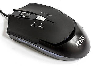Игровая мышь HQ-Tech HQ-MV G7, Black, USB, с подсветкой, Optical 2400DPI, Box, Gaming, мышка, фото 3