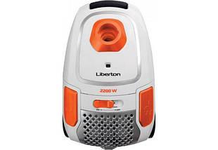 Пылесос Liberton LVC-2245B, 2200 Вт, мешок 4.5 л, щетка пол/ковер, насадка для мебели, фото 3