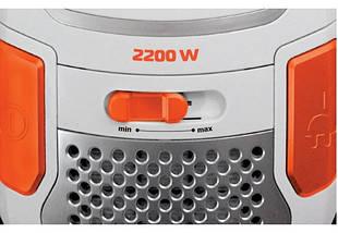 Пылесос Liberton LVC-2245B, 2200 Вт, мешок 4.5 л, щетка пол/ковер, насадка для мебели, фото 2