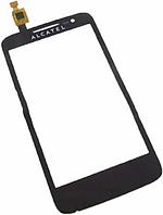 Сенсор ALCATEL 5020D One Touch M Pop Dual black, тач скрин Алкатель