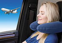 Надувная дорожная подушка для сна TM Zaryad в дорогу